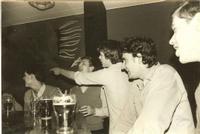 Foto 1  v.l.n.r. Bart Klaus, Frans Haase, Ruud van Thiel, Willem Bekker en Carel ten Hove