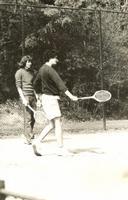 WillemBekker geeft tennisles