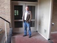 achter deze deur, 1e kamer rechts... A113 was mijn domein...