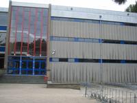 sporthal van de school, alleen in de winter voor ons beschikbaar