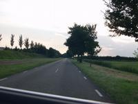 Richting IJsselmeer, rechts is gebied A
